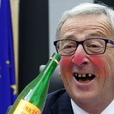 Wino Juncker Outdoing Yeltsin, Drinking Himself to Death as EU Boss