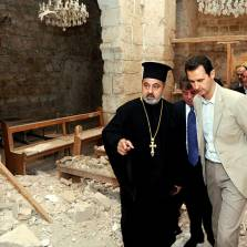 """Syria, Iran and Russia are protecting Christians from the West's """"moderate rebels"""""""