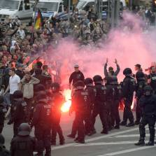 German City Erupts in Spontaneous Protest Against Migrant Violence