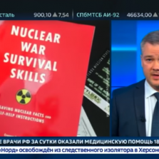Russian Freak Out Over Nuclear War - TV Broadcasting Bunker Survival Advice, Millions Subscribe to Trump Twitter Feed