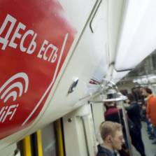 Wi-Fi had already been rolled out on six of the metro's 12 lines