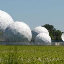 The Bad Aibling listening post in Bavaria is said to have been used to spy on the Elysee Palace in France | Photo: AFP