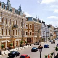 Davit Aghmashenebeli Avenue, Tbilisi, Georgia