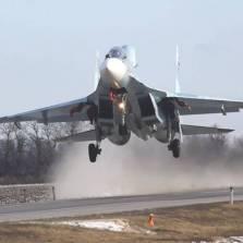 WATCH: Russian Warplanes Practice Landing on a Road