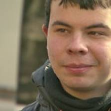 Young Dimitri left Germany to join a volunteer battalion in Ukraine