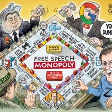 Free-Speech Monopoly – The Game Is Rigged