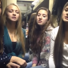 Russian Girls Sing Beautiful Folk Song About Love (Video)