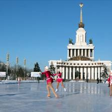 The new ice rink is expected to host up to 20,000 skaters daily