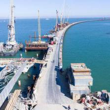 Game-Changer: Crimean Land Bridge to Russia Nears Completion (Russian TV News)