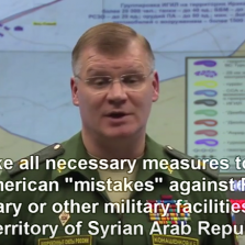 BREAKING: Russia Will Take Down Any American Airplane or Rocket Targeting Syrian Army (Video)