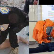 Gloves Are for Sissies: Photographs Show White Helmets Are Immune to Sarin