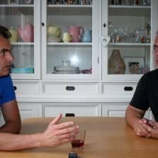 Marcel van den Berg (left) and Max van der Werff (right)