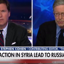 Tucker Carlson Blasts Syria Bombing AGAIN, Hosts Stephen Cohen: 'Americans Will DIE!'