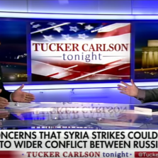 Tucker Carlson Returns to Criticize Syria Bombing, Debates Professional Liar Jamie Kirchik