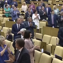 Pro-Trump US Congressmen in Moscow Get Standing Ovation from Russian Parliament (Video)