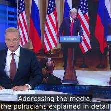 Russian TV New's Glowing Account of the Trump-Putin Summit (Video, Transcript)
