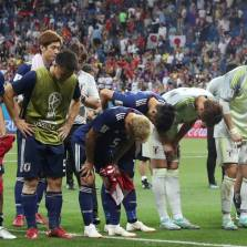 Pure Class: Heartbroken Japan Clean Dressing Room and Leave a Thank You Note in Russian After Devastating World Cup Loss