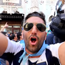 Moscow Is Basically a Giant Street Party Right Now #WorldCup (Video)