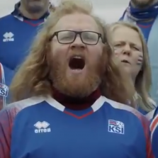 Very Funny - Iceland World Cup Fans Sing Great Rendition of 'Kalinka' in Icelandic (Video)