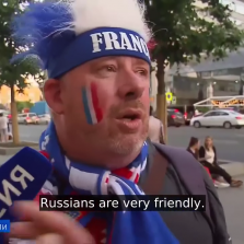 Foreign World Cup Fans Share Their Impressions of Russia - Very Revealing (Russian TV News Video)