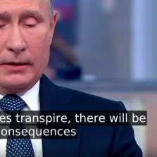 What If Kiev Attacks During World Cup? PUTIN: 'They'll Rue the Day' (Video)