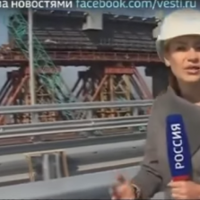 Huge Crimea Investments Almost Done - Multi $Billion Bridge and Int'l Airport (Russian TV News)