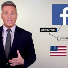 Israeli Government Has a Free Hand to Censor Facebook - Are You Nuts Zuckerberg? (Ben Swann Video)