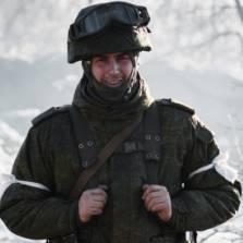 A pro-Russian rebel in a military base in Debaltseve, Ukraine. Photo: RIA Novosti