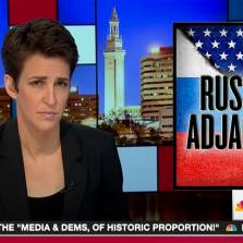 Rachel Maddow Reveals the Shocking Fact That North Korea 'Literally Neighbors' Russia