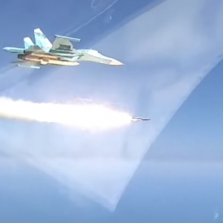 Watch a Russian Jet Sink Ship With a Supersonic Missile in Drills (VIDEO)