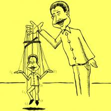 Ukraine master and puppet