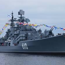 Baltic Fleet's flagship destroyer 'Nastoichivy'