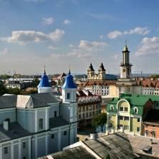Western Ukrainian City Ivano-Frankivsk