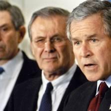 Wolfowitz, Rumsfeld, Bush - the good old days