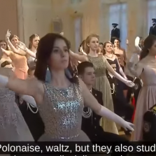 Russian Military Academy Students Keep Tradition Alive With 19th c. Waltzing Ball (Video)