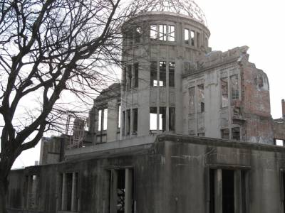 Nuclear Dome, Hiroshima, Japan - legacy of it, is perverted | Photo: Andre Vltchek