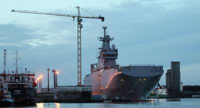 The Mistral ship should have been passed on to Russia last year