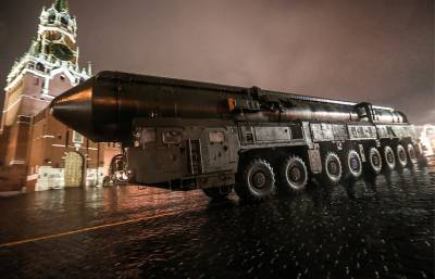 RS-24 Yars intercontinental ballistic missile