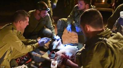 IDF patching up Syrian rebel
