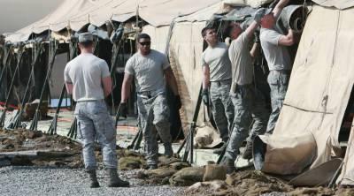 Американские военные на авиабазе Манас | Фото Владимир Пирогов/РИА Новости