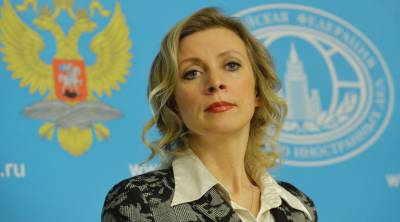 Maria Zakharova, moments before shredding another State Department lie