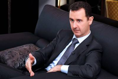 Assad says the west and its Arab client states manufactured the conflict in Syria