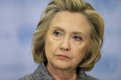She won't do jail time, but she could be forced out of the presidential race.