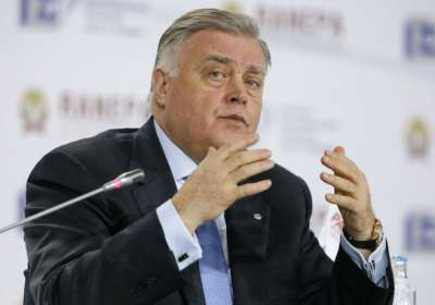 Vladimir Yakunin, head of Russia's railroad monopoly Russian Railways, is suing The New York Times in a Russian court for libel | Photo: Maxim Shemetov, Reuters