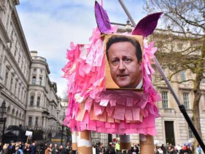 Cameron may very well be forced out. It is conceivable he would lose a vote of confidence in the House