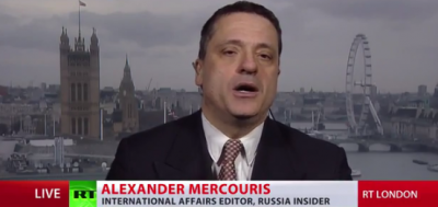 Russia Insider International Affairs Editor Alexander Mercouris