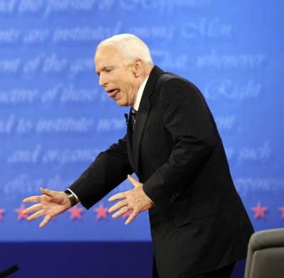 Сенатор Маккейн - типичный пример человека, страдающего русофренией