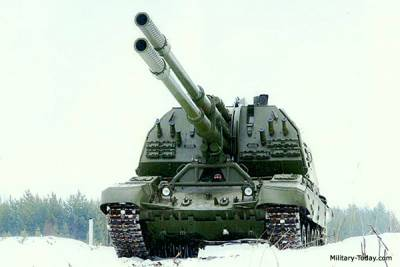 The 2S35 Koalitsija-SV (coalition) is a new Russian self-propelled howitzer
