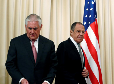 The Russians knew that Tillerson came with empty hands and that in fact he was the suitor, not the one being wooed