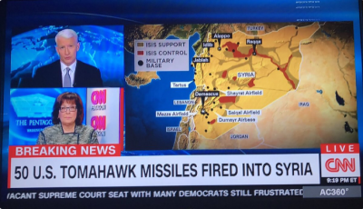 CNN, celebrating war. As usual.